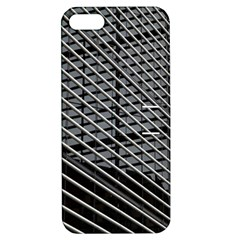 Abstract Architecture Pattern Apple Iphone 5 Hardshell Case With Stand