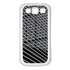 Abstract Architecture Pattern Samsung Galaxy S3 Back Case (white)