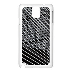 Abstract Architecture Pattern Samsung Galaxy Note 3 N9005 Case (white)