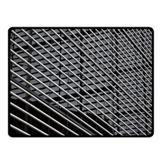 Abstract Architecture Pattern Double Sided Fleece Blanket (small)
