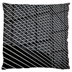 Abstract Architecture Pattern Large Flano Cushion Case (one Side)