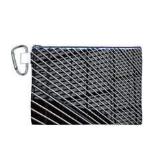 Abstract Architecture Pattern Canvas Cosmetic Bag (m)