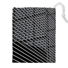 Abstract Architecture Pattern Drawstring Pouches (xxl)