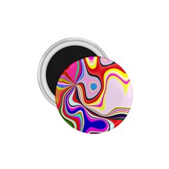 Colourful Abstract Background Design 1 75  Magnets