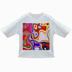 Colourful Abstract Background Design Infant/toddler T Shirts