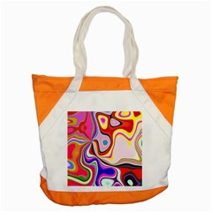 Colourful Abstract Background Design Accent Tote Bag