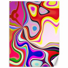 Colourful Abstract Background Design Canvas 36  X 48