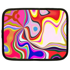 Colourful Abstract Background Design Netbook Case (large)