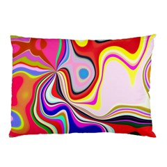 Colourful Abstract Background Design Pillow Case