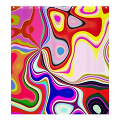 Colourful Abstract Background Design Shower Curtain 66  X 72  (large)