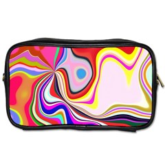 Colourful Abstract Background Design Toiletries Bags