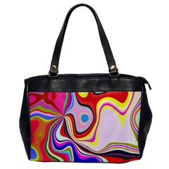 Colourful Abstract Background Design Office Handbags