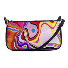 Colourful Abstract Background Design Shoulder Clutch Bags