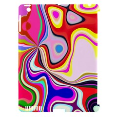 Colourful Abstract Background Design Apple Ipad 3/4 Hardshell Case (compatible With Smart Cover)