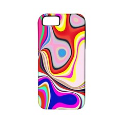 Colourful Abstract Background Design Apple Iphone 5 Classic Hardshell Case (pc+silicone)