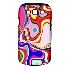Colourful Abstract Background Design Samsung Galaxy S Iii Classic Hardshell Case (pc+silicone)
