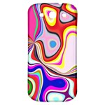 Colourful Abstract Background Design Samsung Galaxy S3 S III Classic Hardshell Back Case Front