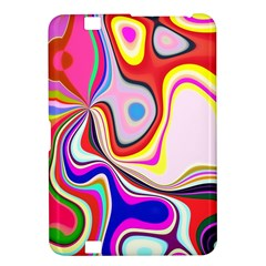 Colourful Abstract Background Design Kindle Fire Hd 8 9