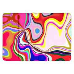 Colourful Abstract Background Design Samsung Galaxy Tab 8 9  P7300 Flip Case