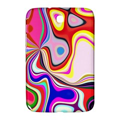 Colourful Abstract Background Design Samsung Galaxy Note 8 0 N5100 Hardshell Case