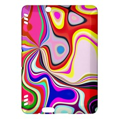Colourful Abstract Background Design Kindle Fire Hdx Hardshell Case
