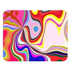 Colourful Abstract Background Design Double Sided Flano Blanket (large)
