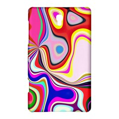 Colourful Abstract Background Design Samsung Galaxy Tab S (8 4 ) Hardshell Case