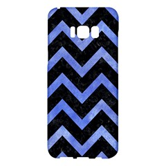 Chevron9 Black Marble & Blue Watercolor Samsung Galaxy S8 Plus Hardshell Case