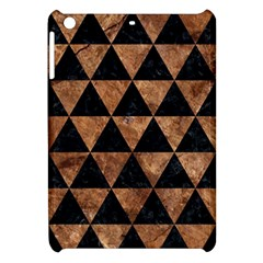 Triangle3 Black Marble & Brown Stone Apple Ipad Mini Hardshell Case