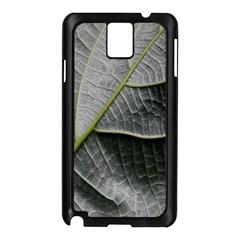 Leaf Detail Macro Of A Leaf Samsung Galaxy Note 3 N9005 Case (black)