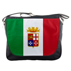 Naval Ensign Of Italy Messenger Bags