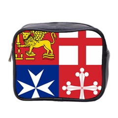 Naval Jack Of Italian Navy  Mini Toiletries Bag 2 Side