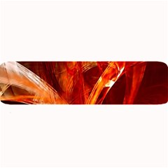 Red Abstract Pattern Texture Large Bar Mats