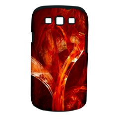 Red Abstract Pattern Texture Samsung Galaxy S Iii Classic Hardshell Case (pc+silicone)
