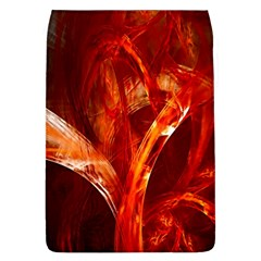 Red Abstract Pattern Texture Flap Covers (l)