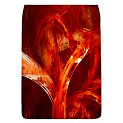 Red Abstract Pattern Texture Flap Covers (s)