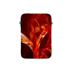Red Abstract Pattern Texture Apple Ipad Mini Protective Soft Cases