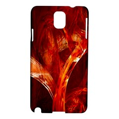 Red Abstract Pattern Texture Samsung Galaxy Note 3 N9005 Hardshell Case