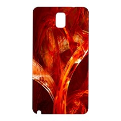 Red Abstract Pattern Texture Samsung Galaxy Note 3 N9005 Hardshell Back Case