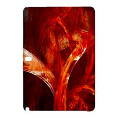 Red Abstract Pattern Texture Samsung Galaxy Tab Pro 10 1 Hardshell Case