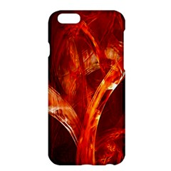 Red Abstract Pattern Texture Apple Iphone 6 Plus/6s Plus Hardshell Case