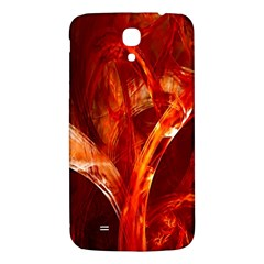 Red Abstract Pattern Texture Samsung Galaxy Mega I9200 Hardshell Back Case