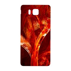 Red Abstract Pattern Texture Samsung Galaxy Alpha Hardshell Back Case