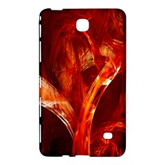 Red Abstract Pattern Texture Samsung Galaxy Tab 4 (8 ) Hardshell Case