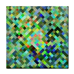 Pixel Pattern A Completely Seamless Background Design Tile Coasters