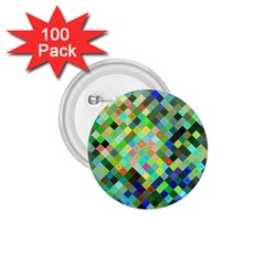 Pixel Pattern A Completely Seamless Background Design 1 75  Buttons (100 Pack)