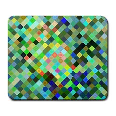 Pixel Pattern A Completely Seamless Background Design Large Mousepads
