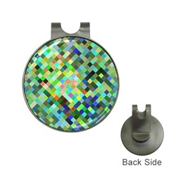 Pixel Pattern A Completely Seamless Background Design Hat Clips With Golf Markers