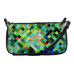 Pixel Pattern A Completely Seamless Background Design Shoulder Clutch Bags