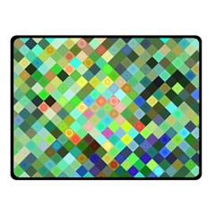 Pixel Pattern A Completely Seamless Background Design Fleece Blanket (small)